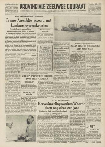 Provinciale Zeeuwse Courant 1954-10-13