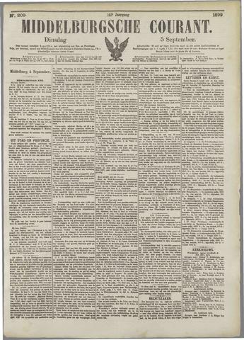 Middelburgsche Courant 1899-09-05