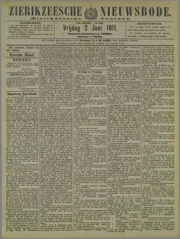 Zierikzeesche Nieuwsbode 1911-06-02