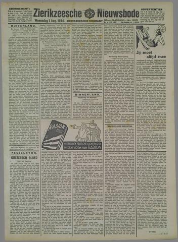 Zierikzeesche Nieuwsbode 1934-08-01