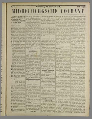 Middelburgsche Courant 1919-01-29