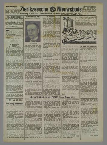 Zierikzeesche Nieuwsbode 1934-04-18