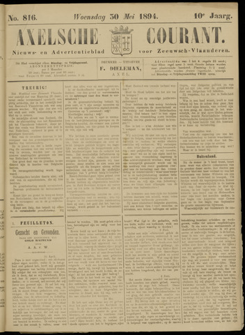 Axelsche Courant 1894-05-30
