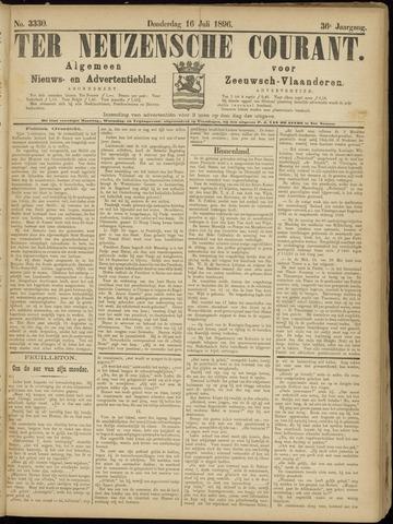 Ter Neuzensche Courant. Algemeen Nieuws- en Advertentieblad voor Zeeuwsch-Vlaanderen / Neuzensche Courant ... (idem) / (Algemeen) nieuws en advertentieblad voor Zeeuwsch-Vlaanderen 1896-07-16