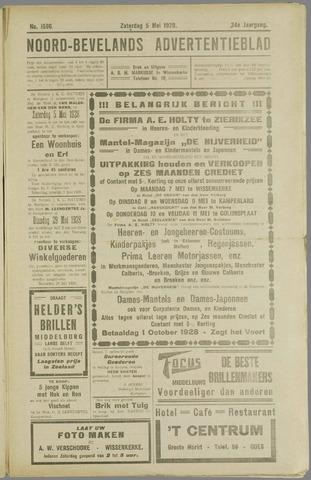 Noord-Bevelands Nieuws- en advertentieblad 1928-05-05