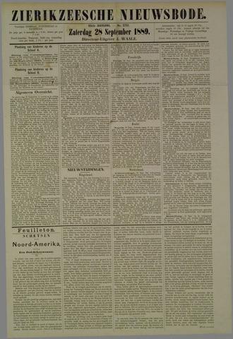 Zierikzeesche Nieuwsbode 1889-09-28