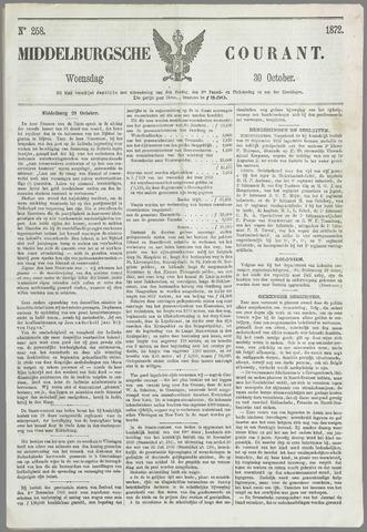 Middelburgsche Courant 1872-10-30