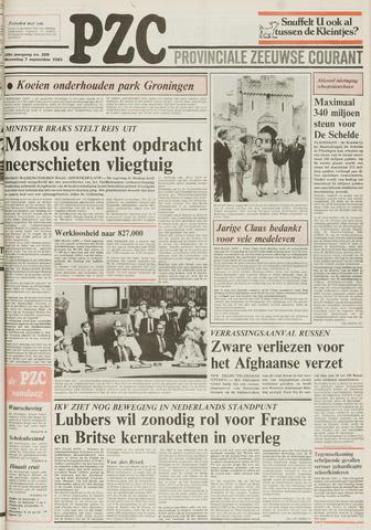 Provinciale Zeeuwse Courant 1983-09-07