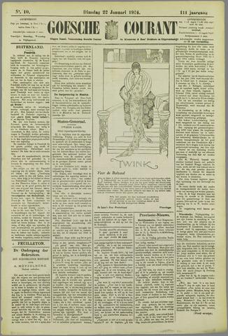 Goessche Courant 1924-01-22