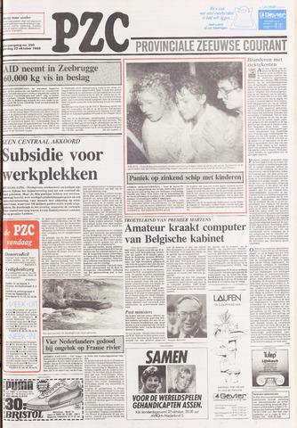 Provinciale Zeeuwse Courant 1988-10-22