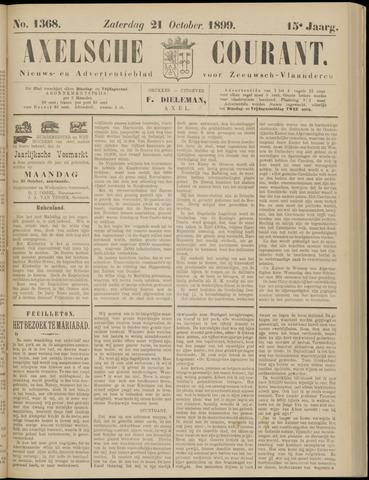 Axelsche Courant 1899-10-21