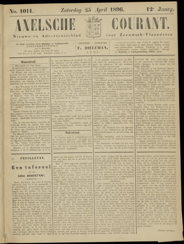 Axelsche Courant 1896-04-25