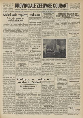 Provinciale Zeeuwse Courant 1950-04-07