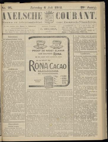 Axelsche Courant 1912-07-06