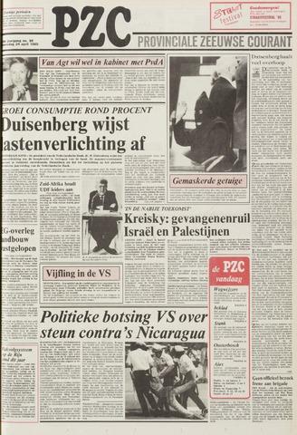 Provinciale Zeeuwse Courant 1985-04-24