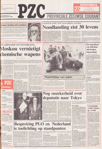 Provinciale Zeeuwse Courant 1989-01-09
