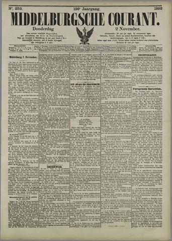 Middelburgsche Courant 1893-11-02