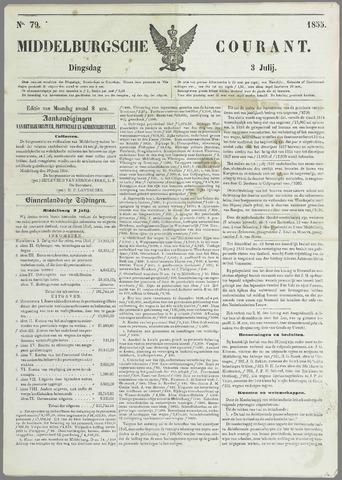 Middelburgsche Courant 1855-07-03