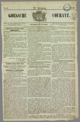 Goessche Courant 1856
