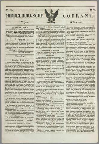 Middelburgsche Courant 1871-02-03