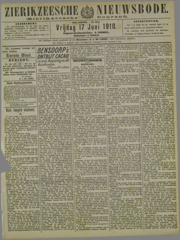 Zierikzeesche Nieuwsbode 1910-06-17