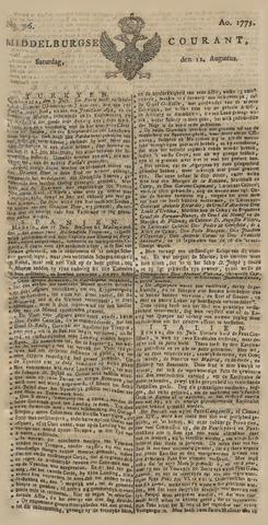 Middelburgsche Courant 1775-08-12