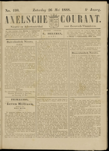 Axelsche Courant 1888-05-26