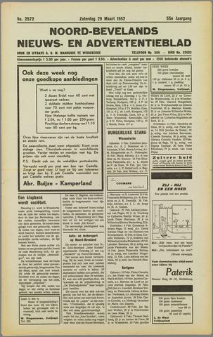 Noord-Bevelands Nieuws- en advertentieblad 1952-03-29