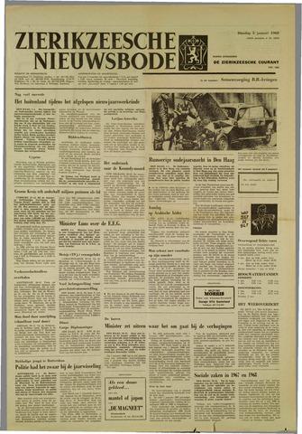 Zierikzeesche Nieuwsbode 1968