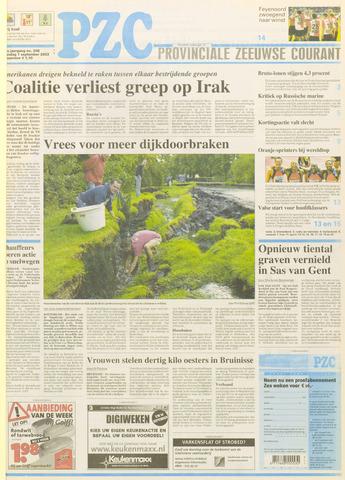Provinciale Zeeuwse Courant 2003-09-01