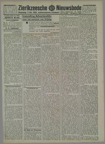 Zierikzeesche Nieuwsbode 1934-02-07