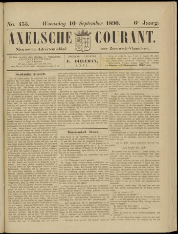 Axelsche Courant 1890-09-10