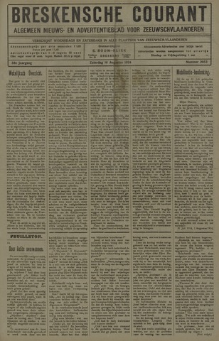 Breskensche Courant 1924-08-16