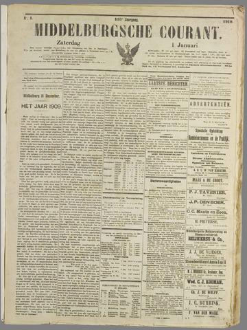 Middelburgsche Courant 1910