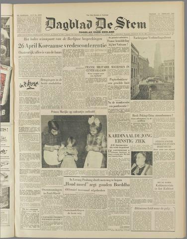 de Stem 1954-02-19