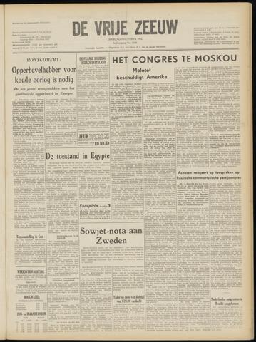 de Vrije Zeeuw 1952-10-07