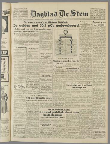 de Stem 1949-09-21
