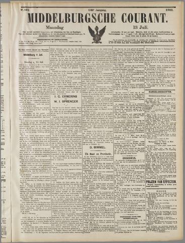 Middelburgsche Courant 1903-07-13