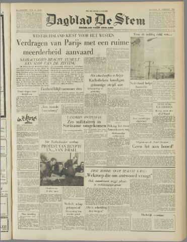 de Stem 1955-02-28