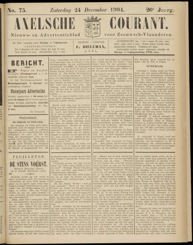 Axelsche Courant 1904-12-24