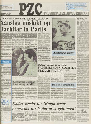 Provinciale Zeeuwse Courant 1980-07-19