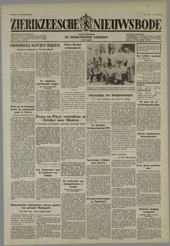 Zierikzeesche Nieuwsbode 1955-08-09