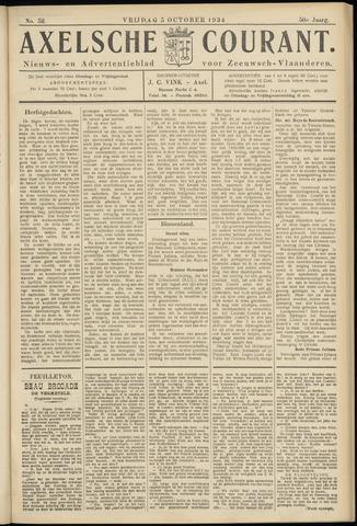 Axelsche Courant 1934-10-05