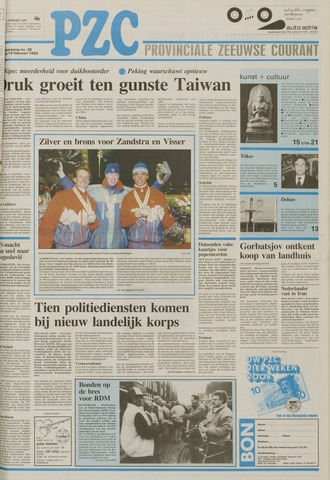 Provinciale Zeeuwse Courant 1992-02-14
