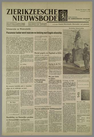 Zierikzeesche Nieuwsbode 1963-02-26