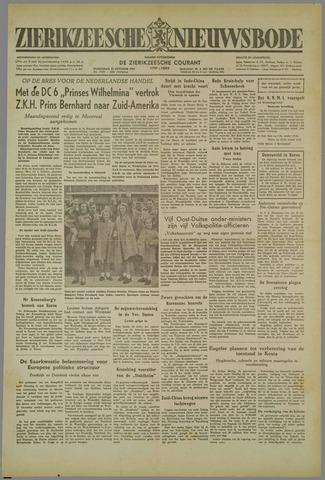 Zierikzeesche Nieuwsbode 1952-10-29