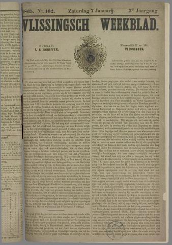 Vlissings Weekblad 1865