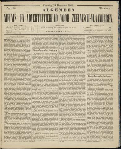 Ter Neuzensche Courant. Algemeen Nieuws- en Advertentieblad voor Zeeuwsch-Vlaanderen / Neuzensche Courant ... (idem) / (Algemeen) nieuws en advertentieblad voor Zeeuwsch-Vlaanderen 1869-12-25