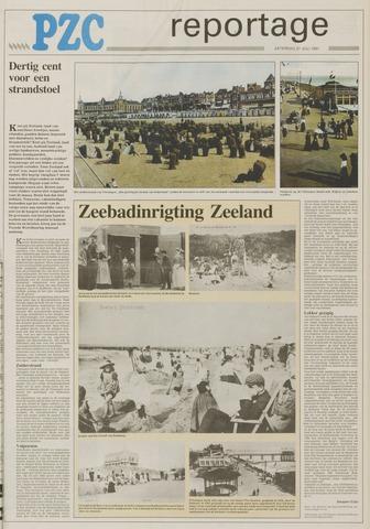 Er Was Eens Strandstoel.Provinciale Zeeuwse Courant 27 Juli 1991 Pagina 17