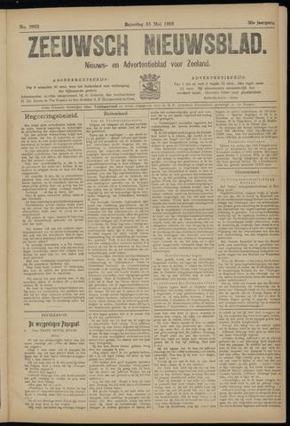 Ter Neuzensch Volksblad. Vrijzinnig nieuws- en advertentieblad voor Zeeuwsch- Vlaanderen / Zeeuwsch Nieuwsblad. Nieuws- en advertentieblad voor Zeeland 1919-05-31